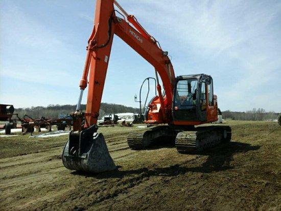'07 Hitachi 135 Excavator