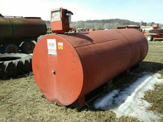 1000 Gallon Fuel Tank w/Pump