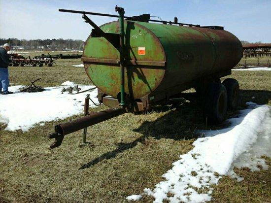 Badger Manure Tanker