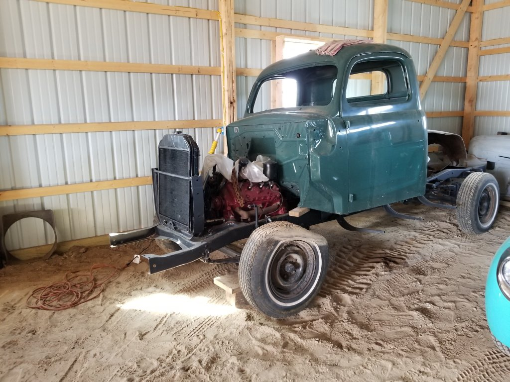 '49 Ford Pickup * Project*