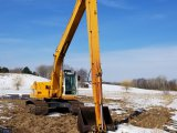 Hyundai 200 Long Reach Excavator