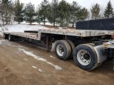 '02 Wilson Road Brute Step Deck Trailer