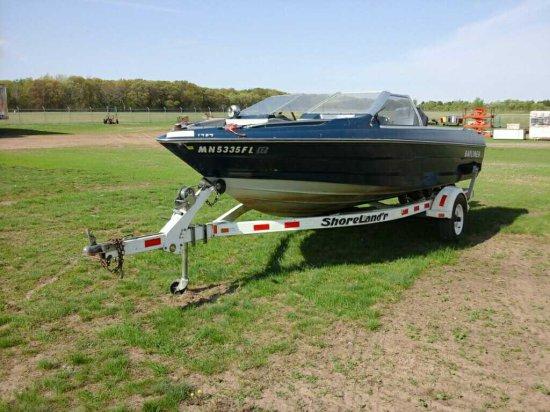 Bayliner Fishing/Speed Boat & Trailer