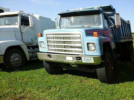 '81 International Harvester F1954 TA Dump Truck