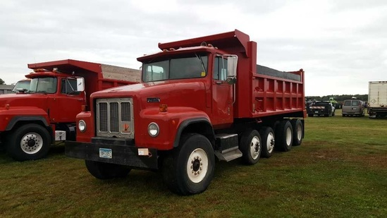 '89 International Paystar Quad Axle Dump Truck
