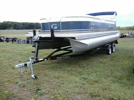 '18 Avalon Grand Island GT2580 Pontoon w/Trailer