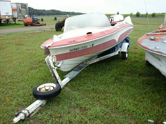 '55 Larson Thunder Hawk Boat & Trailer