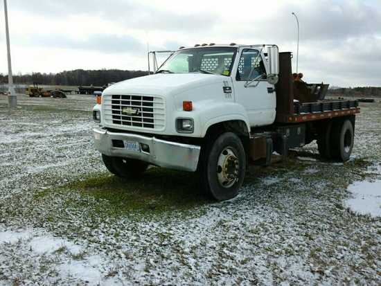 '99 Chevrolet C6500 Flatbed Truck