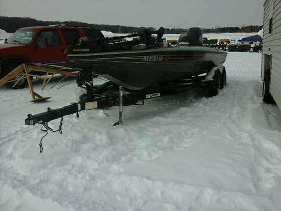 Sprint 21' Boat, Trailer & Motor