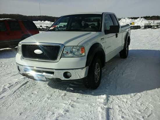 '07 Ford F150 Ext Cab Pickup Truck