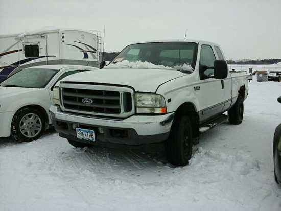 '02 Ford F250 Pickup Truck