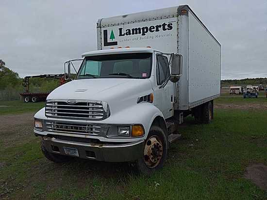 '02 Sterling Acterra Flatbed Truck