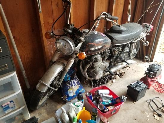 '73 Honda 450 4 Cyl Motorcycle