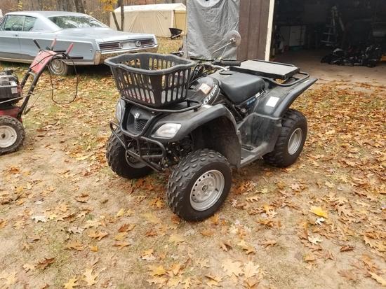 Suzuki Ozark Quad Runner 250 ATV