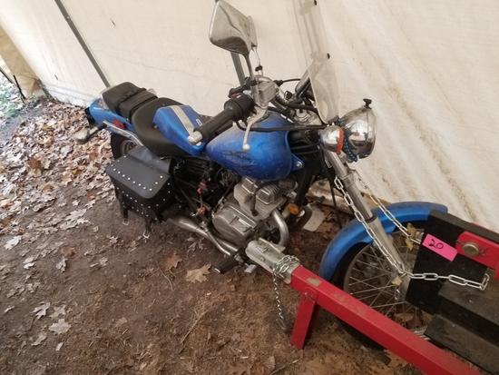 '09 Honda Rebel Motorcycle