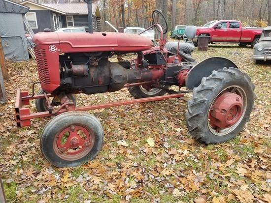 Farmall Model B Cultivision Tractor