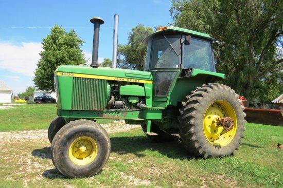 1973 John Deere Model 4630 Diesel Tractor, SN# 4630W004238R, Synchro Range Transmission, Cab with Ai