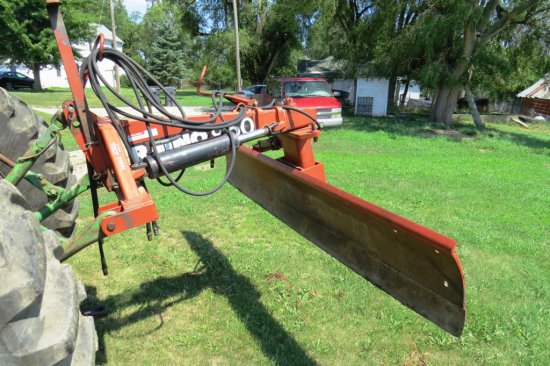 Rhino Model R950 3-Point 6-Way Hydraulic Blade, SN# 12163, (2) Heavy Duty Hydraulic Cylinders, 9' Wi