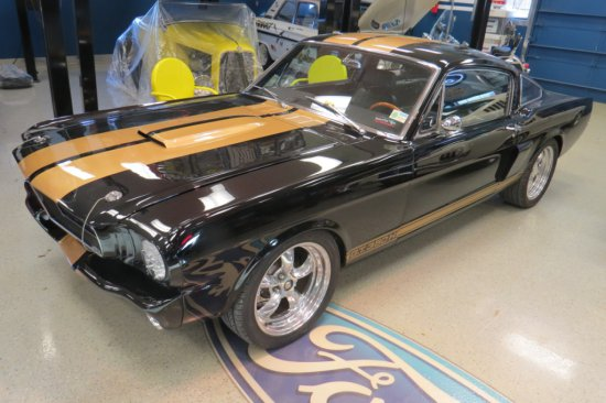 1966 Ford Mustang GT 350H Fastback 2-Door Coupe, VIN #6R09A234028, MCE 302 Ford Cast Iron V-8 Gas En