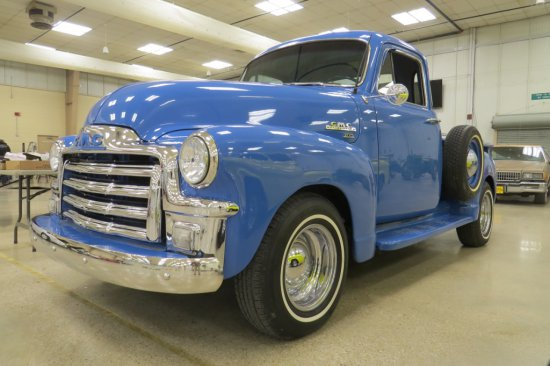 1954 GMC 100 Pickup, Chevy 350 Engine, 4-Speed Automatic Transmission, AM/FM/Cassette,