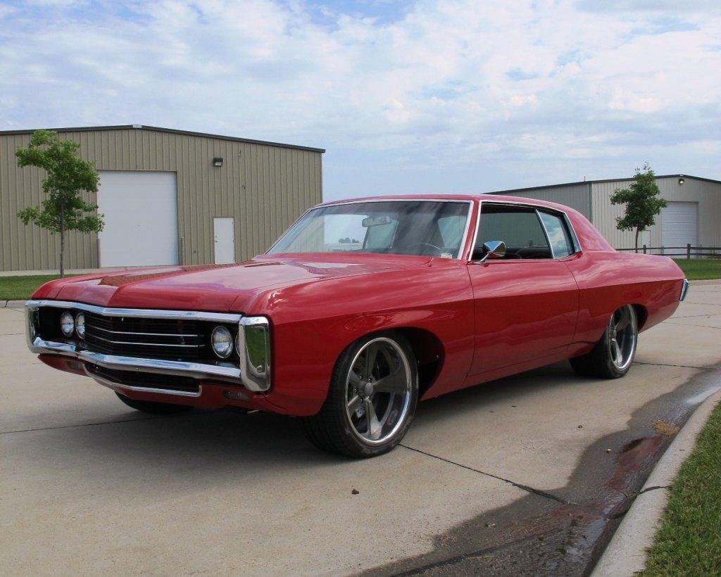 1969 Chevrolet Caprice Custom 2-Door Hardtop, VIN# 78842, 528 V-8 Gas Engine, 4-Speed Manual Transmi