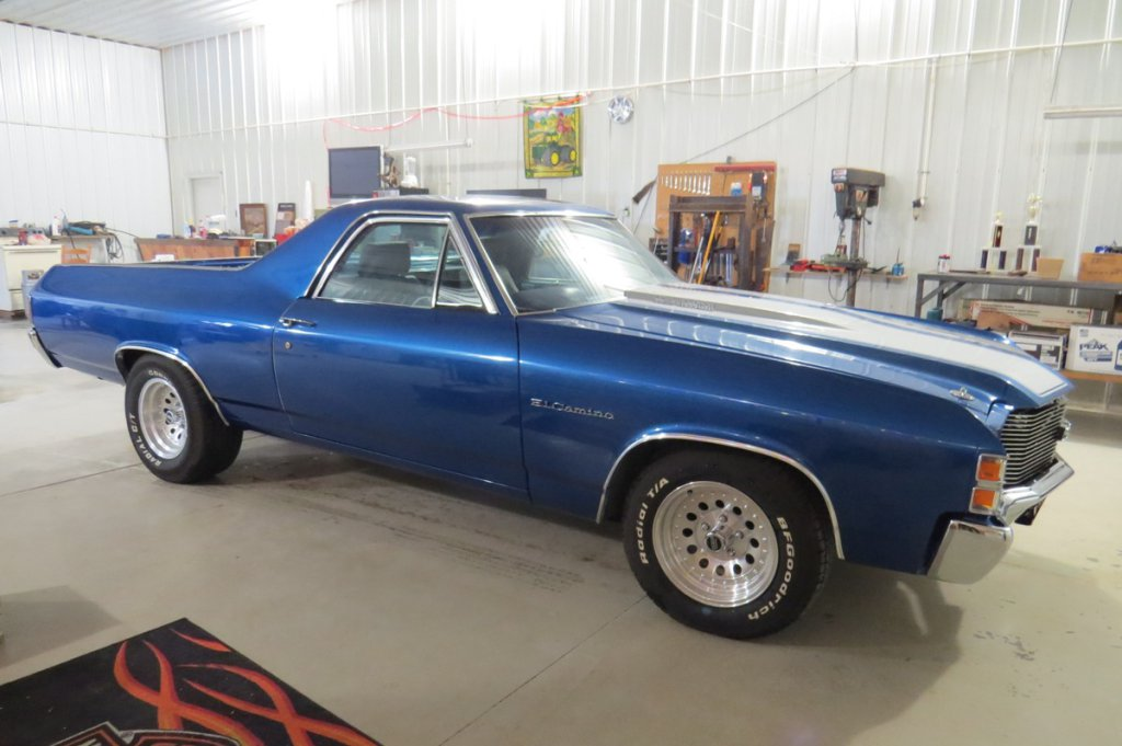 1971 Chevrolet El Camino, 400 Small Block (403 cu in), Turbo 350 Automatic Transmission, Posi-Tracti