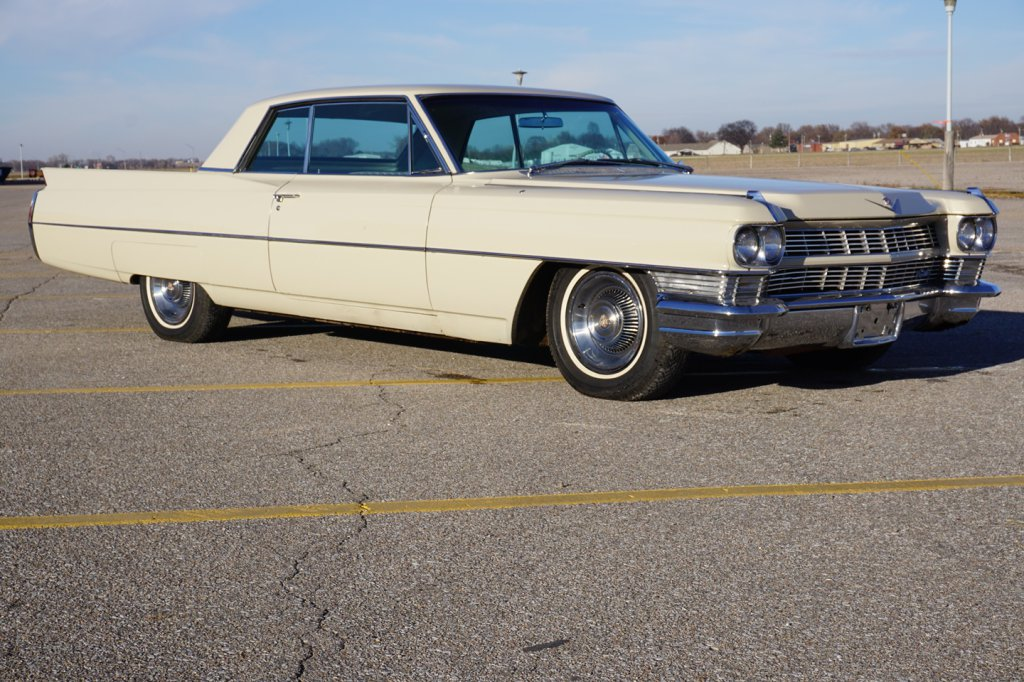 1964 Cadillac Sixty-Two 2-Door Coupe, 429 V-8 Gas Engine, 3-Speed Automatic Transmission, Factory Ai