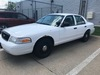 2007 Ford Crown Victoria Police Interceptor 4-Door Sedan, VIN# 2FAHP71WX7X149981, 4.6L  Gas Engine,