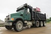 2004 Mack Model CV713Granite Triple Axle Conventional Dump Truck, VIN# 1M2AG11C04M009712, Mack 390 T