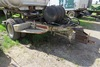 Military 1-Axle Dolly Wheel Trailer.