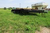 Shop-Made 3-Axle Flatbed Tag Trailer.