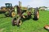 John Deere Model A Gas Tractor, N# 587664, Narrow Front.