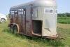 1984 W-W 16' 2-Axle Bumper Pull Livestock Trailer, VIN# 11WES1629EW122232.