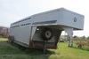 2001 Diamond 24' 2-Axle Gooseneck Livestock Trailer, (2) Center Swing & Slide Gates, Rear Swing & Sl