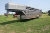 1993 Travalong 24? Tandem Axle Gooseneck Livestock Trailer, VIN# 4DYGS2425P1010897, 14,000lb. GVW, R