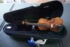 Sandner Model 300 1/10 Violin, SN #AW2014, Made in Germany, Hard Sided Case