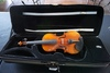 Musaica Imports 1986 1/2 Academia Violin, SN #ACV1887, Hard Sided Case.