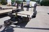 2007 Mac-Lander 16' Tandem Axle Flatbed Tag Trailer, 14' Wood Deck, 2' Fixed Beavertail, 9,900lb. GV