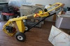Ground Hog Model HD99 Portable Commercial Hydraulic Drive Post Hole Auger on Cart, Honda 9HP Gas Eng