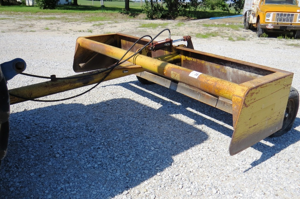 Lot: Command Model DS10EC Pull-Type Box Scraper Blade, SN# 03953985