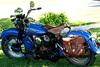 1941 Harley Davidson WLD Motorcycle, Bike was built in 1981 using all OEM p