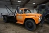 1966 Ford F-600 Conventional Flatbed Boom Truck, VIN# F60CK820551, 9.00-20 Tires.