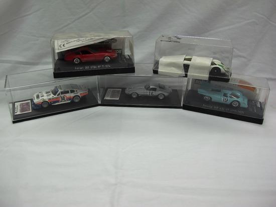 (5) Various Brands 1:43 Scale Model in Display Boxes, Porsche, Aston Martin