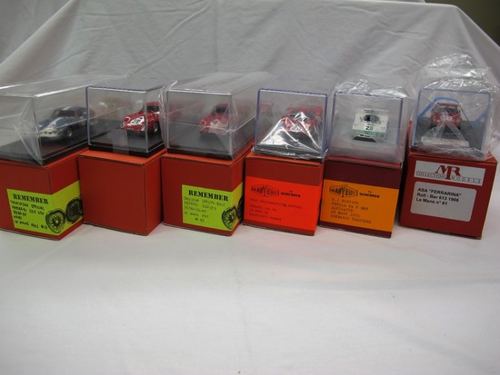 (5) Remember Brand (1) MR  1:43 Scale Models in Boxes.