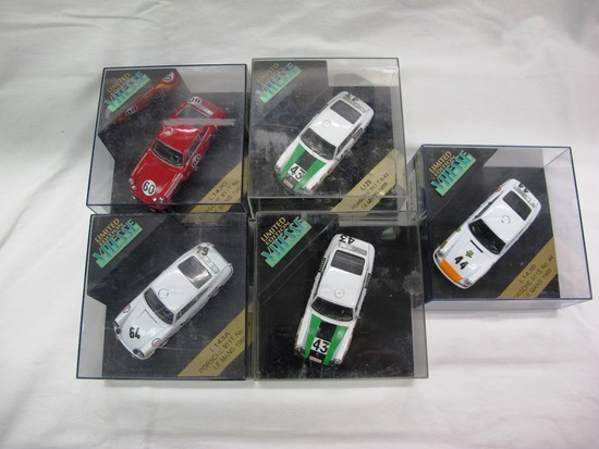 (5) Vitesse Limited Edition 1:43 Scale Models in Boxes, Porsche, Made in Ch