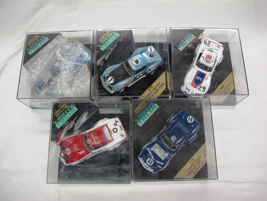 (5) Vitesse Limited Edition 1:43 Scale Models in Boxes, Corevette, Made in