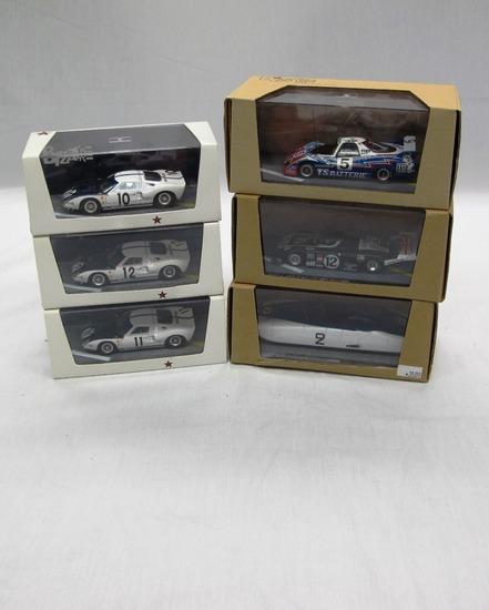 (6) Bizarre 1:43 Scale Models in Boxes, Ford, Cadenet-Lola T380, WM P76, Cu