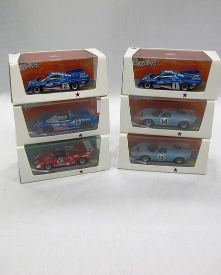 (6) Bizarre 1:43 Scale Models in Boxes, Lola, Matra 660, Mirage M1, Inalter