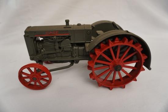 Ertl Die Cast Metal 1/16 Scale Case Tractor (No Box).
