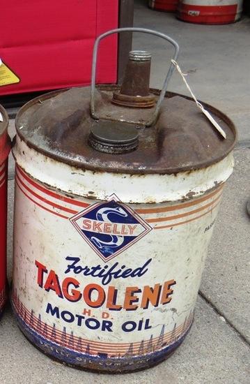 (1) Original Skelly Gasoline 5-Gallon Metal Can.
